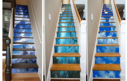 A Unique Way to Decorate Your Home Stairs