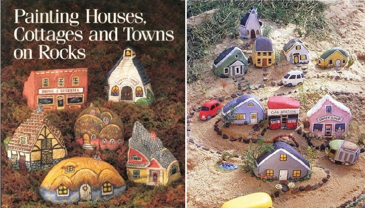 Painting Houses on Rocks