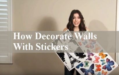How To Decorate Walls Using Stickers