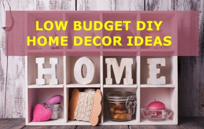 5 Low Budget DIY Home Décor Ideas