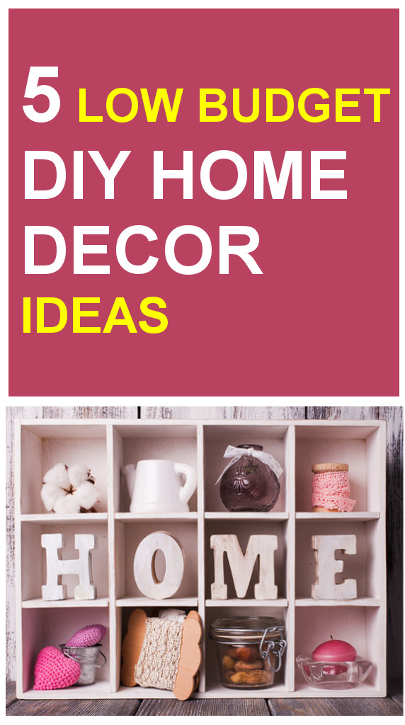 DIY Home Decor Crafts Ideas