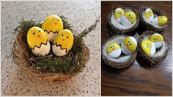 Painted-Stone-Crafts-chicks
