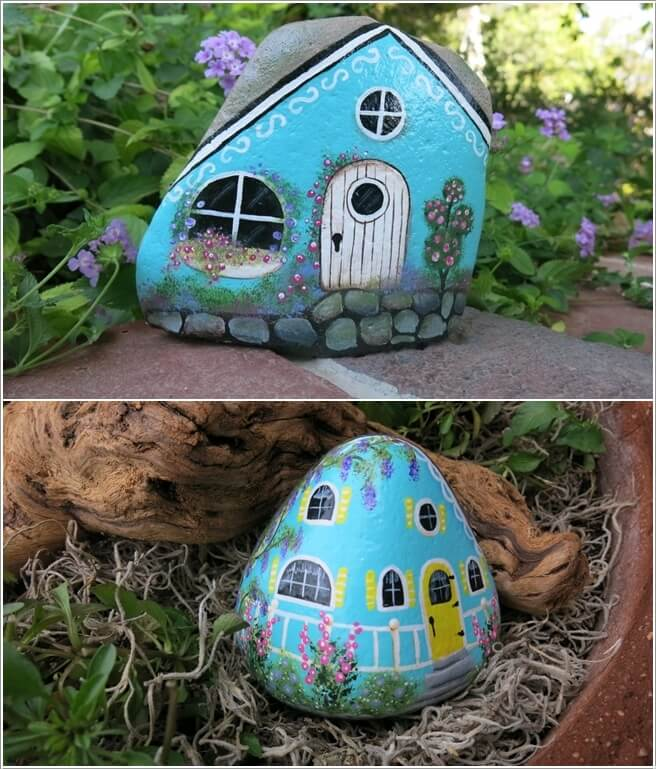 Painted-Stone-Crafts-cottage