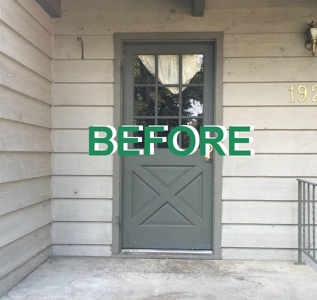 Fall Front Porch Transformation