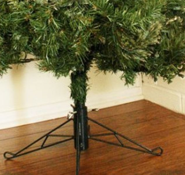 Here is a Simple Fix for Your Ugly Christmas Tree Base