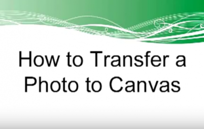 How to Transfer Photos to Canvas