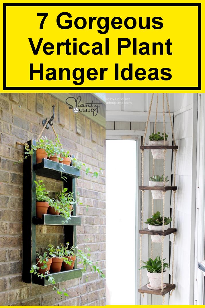 Vertical-plant-hangers