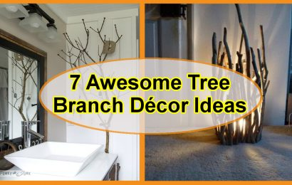 7 Awesome Tree Branch Décor Ideas