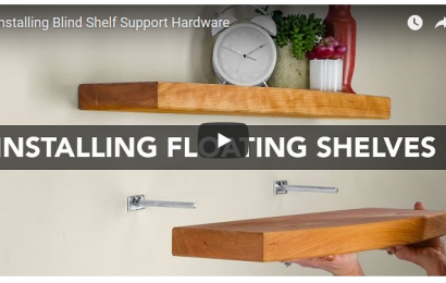 blind shelf support