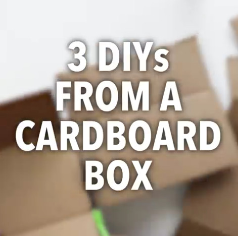 Things You Can Make From Cardboard