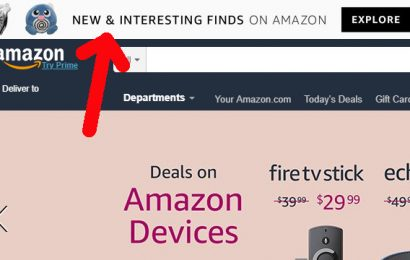 "Amazon.com ""Interesting Finds"" Feature"