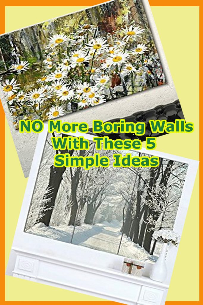 No More Boring Walls