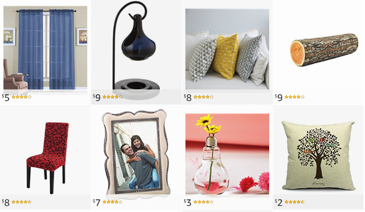 under10_home decor items