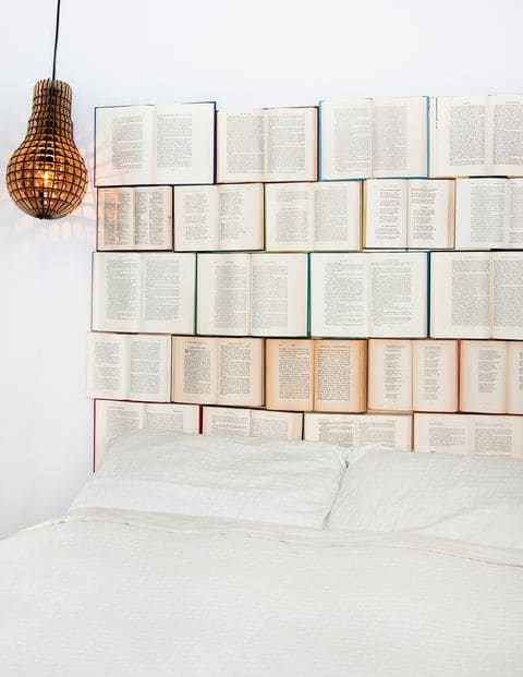 5 ideas for decorating with books — guilt-free