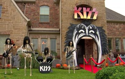 An Epic Halloween House in Keller Turns Heads Every Year