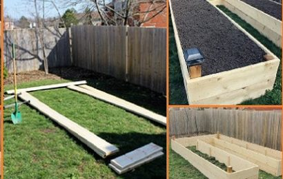 DIY U-Shaped Raised Garden Beds (PART 1)