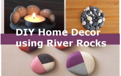 DIY Home Decor Ideas Using River Rocks
