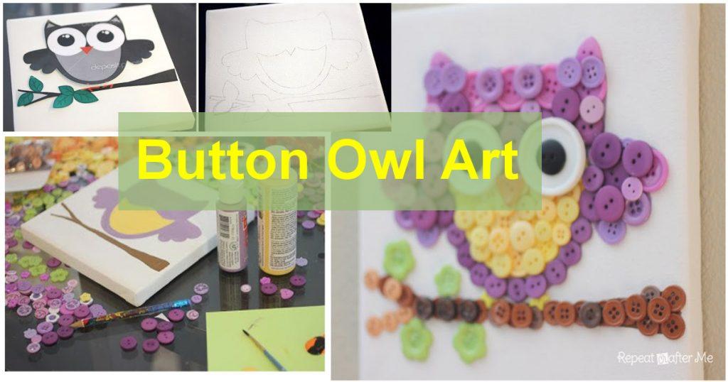 Button-Owl-Art