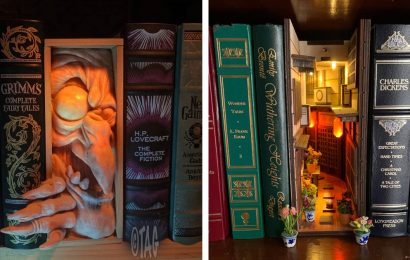 10+ Book Nook Ideas That Will Bring Magic to Your Shelves