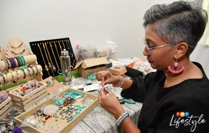 Gem jeweller Kogie is stringing her way through life