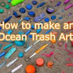 ocean trash art