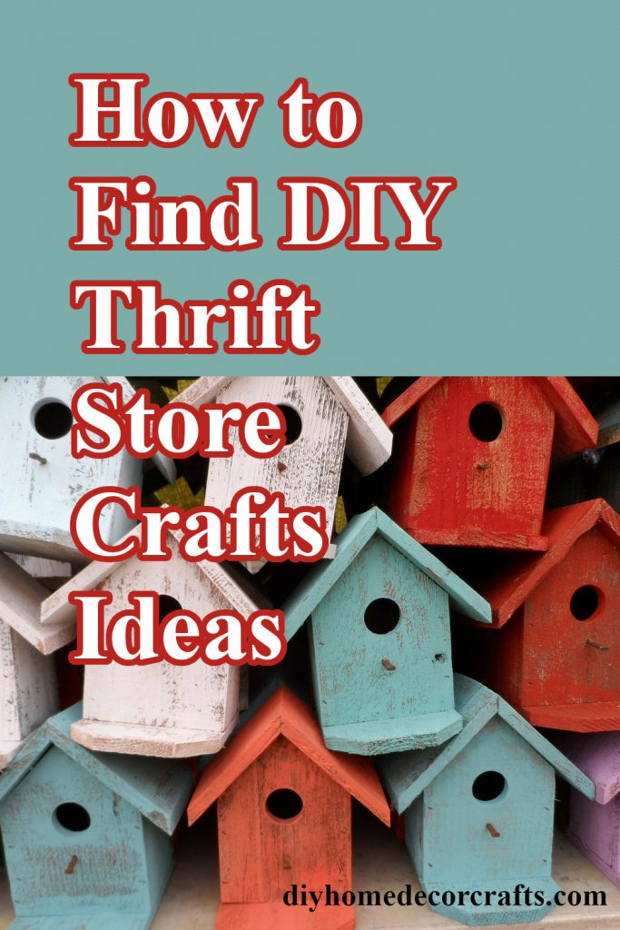 thrift stores craft ideas