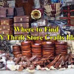Thrift store craft ideas