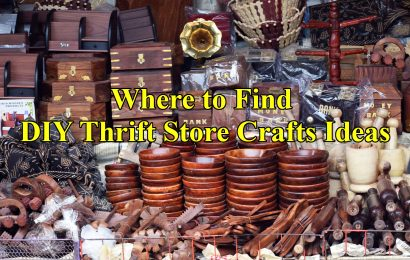 How to Find DIY Thrift Store Crafts Ideas