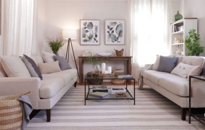 Watch This Living Room Go From Not Done to Done-Up