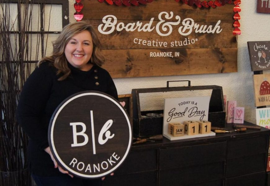 Jan. 21 – In trying times, Board & Brush Roanoke harnesses creativity | Fwbusiness